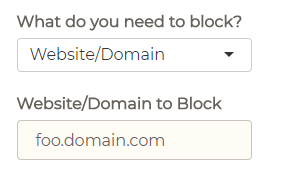 How to Block Emails by Subdomain | Block Sender Help